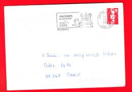 Flamme Dpt 50 : VALOGNES (SCOTEM N°  5178 émise Le 22/08/1980) : En Cotentin - Musée Du Cidre - Poststempel (Briefe)