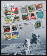 USA MNH Scott #3188 Souvenir Sheet Of 15 Different 33c 1960s Celebrate The Century Series - Poupées
