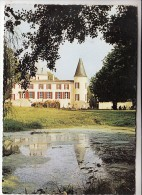 BLAYE 33 -CHATEAU SAUGERON Foyer De Retraite Du Combattant  - CPSM Dentelée GF (1986) Gironde - Blaye