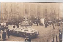 Carte Photo Militaria : Fêtes Commémoratives 11 Nov 1920 - Place Du Panthéon - Départ Du Cortège - Patriotiques