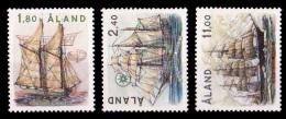 (013) Aland  Sailing Ships / Voiliers / Bateaux / Segelschiffe ** / Mnh  Michel 28-30 - Aland