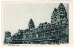 CAMBODIA/CAMBODGE - ANGKOR (CAMBOGE) - IL SANTO GRAN TEMPIO DEL REGNO - Cambogia