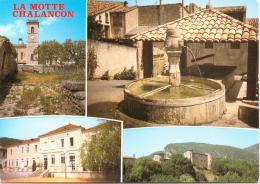 Cpsm Cpm  La Motte Chalancon (multivues) - Autres Communes