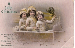 A JOLLY CHRISTMAS     Filettes  Et Dorures - New Year