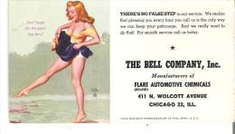 """The Bell Company, Inc. Manufacturers Of Flare Automotive Chemicals, Chicago """"There's No False Step In Our Service."""" - Automotive"""