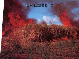 (130) Australia - QLD - Sugar Cane Burning - Andere