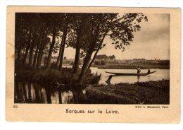 Image , Publicité , Quintonine , BATEAU , Barques Sur La LOIRE - Otros