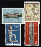 Greece 735-8   * - Unused Stamps