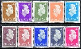 Greece 778-87  * - Unused Stamps