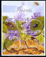 MICRONESIA   519  MINT NEVER HINGED MINI SHEET OF BUTTERFLIES-INSECTS   # M-543-3  ( - Butterflies