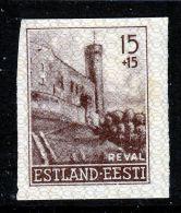 Estonia  NB 1  Imperf.  * - Estonia