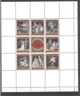 Osterreich 1969 100 JahreWiener Staatsoper  Yv BF 6  MNH ** - Blocs & Feuillets