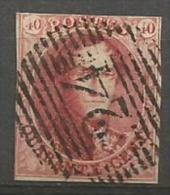 8A  Obl  24 BXL  Court En Haut  120 - 1851-1857 Medallions (6/8)