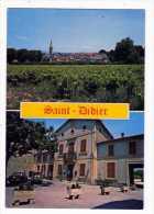 Carte Postale SAINT DIDIER Multi Vues Générale  Place De La Mairie  1981 Vaucluse 84 - France