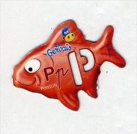 Magnet Gervais Lettre P Comme Poisson - Advertising