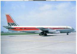 Aviation Postcard-WGA-019-AIR MANILA INTERNATIONAL- BOEING 707 - 1946-....: Moderne