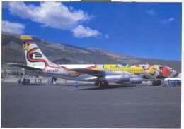 Aviation Postcard-WGA-024-EQUATORIANA  BOEING 720 - 1946-....: Moderne