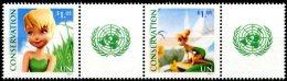 ONU New-York 2012 - Tinkerbell (fée Clochette) RIO+20 - Bande Extraite De Feuille Perso ** MNH - Unclassified