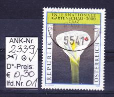 "3.3.2000  -  SM  ""Internat. Gartenschau ""   -  O  Gestempelt  -   Siehe Scan  (2339o 01-04) - 1991-00 Usati"