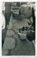 Mézières,Suisse, Bénédiction De La 1ère Pierre De L´église, 1937, Chalumeau, Glasson Photo Bulle - Non Classés