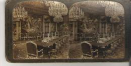 The King's Council Chamber, Stockholm, Sweden  10115  Chambre De Conseildu Roi, Stockholm, Suede Foncee - Stereoscopic