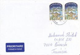 Lettre Vers La Tunisie Janvier 2004 - Lituania