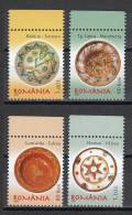 Romania 2007 / Romanian Pottery / Peasant Dishes (III) / 4 Val. - Other
