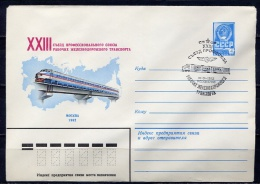 W KMK With SG 1981 15315 Congress Of Trade Union Railway. - Trains
