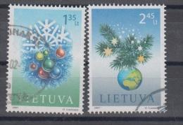 Lithuania 2007 Michel Nr 952-3 Used - Lituania