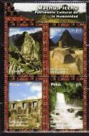 Pérou 1407/10 Neuf ** - Peru