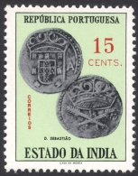 Portuguese India, 15 C. 1959, Sc # 600, Mi # 565, MH - Portuguese India