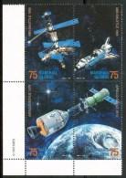 1985 Marshall Spazio Space Espace Set MNH** F14 - Marshall