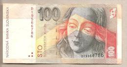 Slovacchia - Banconota Circolata Da 100 Corone - 1993 - Slovacchia