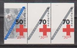 Netherlands Nederland Pays Bas 1293a-1293c MNH; Croix Rouge, Cruz Roja, Rote Creuz, Red Cross - Rode Kruis