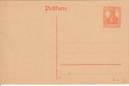 Deutsches Reich 1908 Mi P 110 I Ungelaufen [A] @ - Entiers Postaux