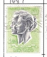 Monaco Scott   C70 3 Francs Used VF - Monaco