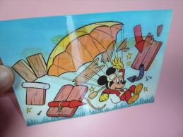 CPM    CPA 3D-Karte, Mickey´s Plane, Mickey´s Flugzeug    DISNEY - Comicfiguren
