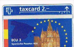 SVIZZERA (SWITZERLAND) - PTT - 1993 ECU 3: SPANISCHE PESETEN 408 (TIRAGE 5000) - MINT -  RIF. 4104 - Svizzera