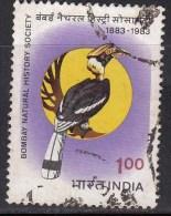 Used 1983, Bombay Natural History Society, Bird Great Indian Hornbill,  (sample Image) - Birds