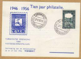 Carte Feuillet Souvenir 987 Tien Jaar Philatelie Turnhout - Hojas
