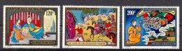 Mut082 KUNST SPROOKJES PAARDEN HORSES STORIES FAIRYTALES ALI BABA ALADIN 1001 NIGHTS MALI 1971 PF/MNH - Chevaux