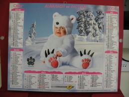 TOM ARMA , Calendrier Almanach Du Facteur - Oller - 2008 - 2 Photos - Calendars