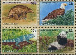 1995 Nazioni Unite New York, Protezione Natura, Serie Completa Nuova (**) - Nuovi