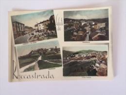 SALUTI DA ROCCASTRADA VIAGGIATA DEL 1956 - Grosseto