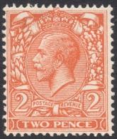 Great Britain, 2 P. 1924, Sc # 190, Mi # 157X, MNH - 1902-1951 (Kings)