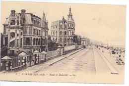 CPA 14 - VILLERS SUR MER - Route De Dauville - Villers Sur Mer