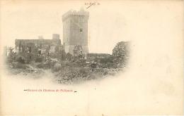 RUINES DU CHATEAU DE POLIGNAC PRECURSEUR - France
