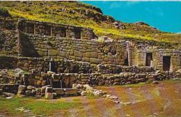 Peru Cuzco Tambomachay Inca's Bath