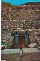 Peru Cuzco Tampumachay Ceremonial Inca's Bath