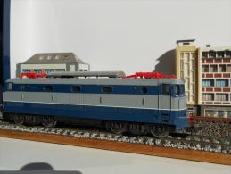 SCALA H0 - LIMA Loco Elettrica FS E 444 TARTARUGA - SENZA PANTOGRAFI - Locomotive